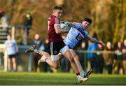 19 January 2020; Con Kilpatrick of St Mary's in action against Mike Breen of UCD during the Sigerson Cup Quarter Final between UCD and St Mary's University College at Belfield in UCD, Dublin. Photo by David Fitzgerald/Sportsfile
