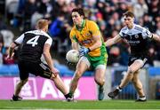 19 January 2020; Michael Farragher of Corofin in action against Niall McEvoy, left, and Ryan McEvoy of Kilcoo during the AIB GAA Football All-Ireland Senior Club Championship Final between Corofin and Kilcoo at Croke Park in Dublin. Photo by Sam Barnes/Sportsfile