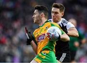 19 January 2020; Ian Burke of Corofin in action against Aaron Branagan of Kilcoo during the AIB GAA Football All-Ireland Senior Club Championship Final between Corofin and Kilcoo at Croke Park in Dublin. Photo by Sam Barnes/Sportsfile