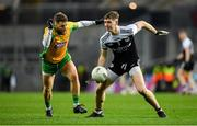 19 January 2020; Ryan McEvoy of Kilcoo in action against Micheál Lundy of Corofin during the AIB GAA Football All-Ireland Senior Club Championship Final between Corofin and Kilcoo at Croke Park in Dublin. Photo by Seb Daly/Sportsfile