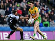 19 January 2020; Ronan Steede of Corofin in action against Niall Branagan of Kilcoo during the AIB GAA Football All-Ireland Senior Club Championship Final between Corofin and Kilcoo at Croke Park in Dublin. Photo by Sam Barnes/Sportsfile