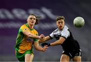 19 January 2020; Kieran Molloy of Corofin in action against Jerome Johnston of Kilcoo during the AIB GAA Football All-Ireland Senior Club Championship Final between Corofin and Kilcoo at Croke Park in Dublin. Photo by Seb Daly/Sportsfile
