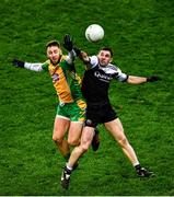 19 January 2020; Micheál Lundy of Corofin in action against Darryl Branagan of Kilcoo  during the AIB GAA Football All-Ireland Senior Club Championship Final between Corofin and Kilcoo at Croke Park in Dublin. Photo by Ray McManus/Sportsfile