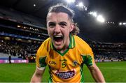 19 January 2020; Kieran Molloy of Corofin celebrates after the AIB GAA Football All-Ireland Senior Club Championship Final between Corofin and Kilcoo at Croke Park in Dublin. Photo by Piaras Ó Mídheach/Sportsfile