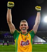 19 January 2020; Kieran Fitzgerald of Corofin celebrates after the AIB GAA Football All-Ireland Senior Club Championship Final between Corofin and Kilcoo at Croke Park in Dublin. Photo by Piaras Ó Mídheach/Sportsfile