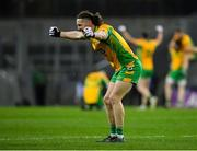19 January 2020; Kieran Molloy of Corofin celebrates at the final whistle following his side's victory of the AIB GAA Football All-Ireland Senior Club Championship Final between Corofin and Kilcoo at Croke Park in Dublin. Photo by Seb Daly/Sportsfile