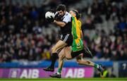 19 January 2020; Niall Branagan of Kilcoo in action against Kieran Molloy of Corofin during the AIB GAA Football All-Ireland Senior Club Championship Final between Corofin and Kilcoo at Croke Park in Dublin. Photo by Seb Daly/Sportsfile