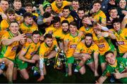 19 January 2020; Corofin players celebrate after the AIB GAA Football All-Ireland Senior Club Championship Final between Corofin and Kilcoo at Croke Park in Dublin. Photo by Piaras Ó Mídheach/Sportsfile