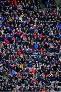 19 January 2020; A section of the 25,930 attendance, who attended both games, during the AIB GAA Hurling All-Ireland Senior Club Championship Final between Ballyhale Shamrocks and Borris-Ileigh at Croke Park in Dublin. Photo by Ray McManus/Sportsfile