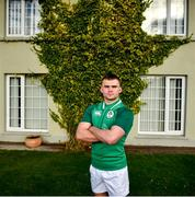 20 January 2020; Oran McNulty poses for a portrait following an Ireland Rugby Under-20 Six Nations Squad Announcement at Fota Island Resort in Cork. Photo by David Fitzgerald/Sportsfile