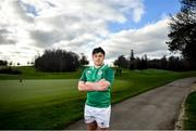 20 January 2020; Thomas Clarkson poses for a portrait following an Ireland Rugby Under-20 Six Nations Squad Announcement at Fota Island Resort in Cork. Photo by David Fitzgerald/Sportsfile