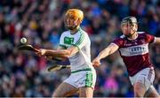 19 January 2020; Colin Fennelly of Ballyhale Shamrocks in action against Dan McCormack of Borris-Ileigh  during the AIB GAA Hurling All-Ireland Senior Club Championship Final between Ballyhale Shamrocks and Borris-Ileigh at Croke Park in Dublin. Photo by Sam Barnes/Sportsfile