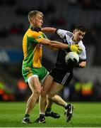 19 January 2020; Darryl Branagan of Kilcoo in action against Kieran Fitzgerald of Corofin during the AIB GAA Football All-Ireland Senior Club Championship Final between Corofin and Kilcoo at Croke Park in Dublin. Photo by Sam Barnes/Sportsfile