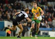 19 January 2020; Ronan Steede of Corofin in action against Aaron Morgan of Kilcoo during the AIB GAA Football All-Ireland Senior Club Championship Final between Corofin and Kilcoo at Croke Park in Dublin. Photo by Sam Barnes/Sportsfile