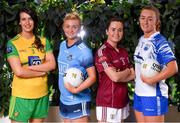 21 January 2020; In their fifth year of partnership with the Ladies Gaelic Football Association, Lidl Ireland are proud to announce the rollout of the 'One Good Club' initiative, which brings Lidl's charity partner, Jigsaw, and the LGFA together to promote positive mental health in LGFA clubs across the country. One Good Club will provide the opportunity for local communities to engage with key messages in the promotion of mental health, and to enable community members to support the young people in their localities. Pictured are Lidl 'One Good Club' ambassadors, from left, Emer Gallagher of Donegal, Carla Rowe of Dublin, Nicola Ward of Galway and Caoimhe McGrath of Waterford, at the launch of the 2020 Lidl Ladies National Football Leagues, at Lidl Ireland Head Office in Tallaght, Dublin. Photo by Seb Daly/Sportsfile