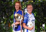 21 January 2020; In attendance at the launch of the 2020 Lidl Ladies National Football Leagues at Lidl Ireland Head Office in Tallaght, Dublin, are Aishling Moloney of Tipperary, and Caoimhe McGrath of Waterford.  Photo by Seb Daly/Sportsfile