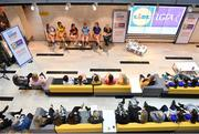 21 January 2020; Pictured is a general view of the 2020 Lidl Ladies National Football Leagues at Lidl Ireland Head Office in Tallaght, Dublin. Photo by Seb Daly/Sportsfile