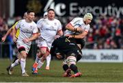 18 January 2020; Luke Marshall of Ulster during the Heineken Champions Cup Pool 3 Round 6 match between Ulster and Bath at Kingspan Stadium in Belfast. Photo by Oliver McVeigh/Sportsfile