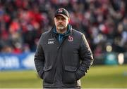 18 January 2020; Ulster Head Coach Dan McFarland before the Heineken Champions Cup Pool 3 Round 6 match between Ulster and Bath at Kingspan Stadium in Belfast. Photo by Oliver McVeigh/Sportsfile
