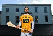 22 January 2020; In attendance at the launch of the 2020 Allianz Leagues at Malone House, Belfast is Antrim hurler Neil McManus. 2020 marks the 28th year of Allianz' partnership with the GAA as sponsors of the Allianz Leagues. Photo by Brendan Moran/Sportsfile