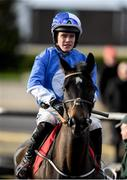 15 January 2020; Jockey Adam Short prior to the Ladbrokes Mares Maiden Hurdle at Punchestown Racecourse in Kildare. Photo by Harry Murphy/Sportsfile