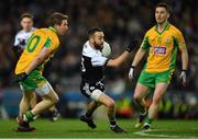 19 January 2020; Conor Laverty of Kilcoo in action against Gary Sice, left, and Ian Burke of Corofin during the AIB GAA Football All-Ireland Senior Club Championship Final between Corofin and Kilcoo at Croke Park in Dublin. Photo by Piaras Ó Mídheach/Sportsfile