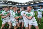 19 January 2020; Ballyhale Shamrocks players celebrate after the AIB GAA Hurling All-Ireland Senior Club Championship Final between Ballyhale Shamrocks and Borris-Ileigh at Croke Park in Dublin. Photo by Piaras Ó Mídheach/Sportsfile