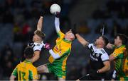 19 January 2020; Conor Newell of Corofin punches the ball clear during the AIB GAA Football All-Ireland Senior Club Championship Final between Corofin and Kilcoo at Croke Park in Dublin. Photo by Piaras Ó Mídheach/Sportsfile