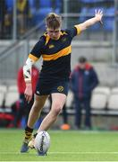 21 January 2020; Alex Walsh of The Kings Hospital during the Bank of Ireland Vinnie Murray Cup Semi-Final match between The King's Hospital and CUS at Energia Park in Dublin. Photo by Sam Barnes/Sportsfile