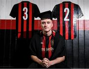24 January 2020; Danny Grant of Bohemian FC, pictured at the launch of the National College of Ireland's partnership with Bohemian FC at Dalymount Park in Dublin. Photo by Harry Murphy/Sportsfile