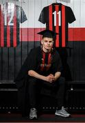 24 January 2020; Paddy Kirk of Bohemian FC, pictured at the launch of the National College of Ireland's partnership with Bohemian FC at Dalymount Park in Dublin. Photo by Harry Murphy/Sportsfile