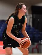 24 January 2020; Sarah Fleming of Portlaoise Panthers during the Hula Hoops U18 Women's National Cup Final match between Portlaoise Panthers and Waterford Wildcats at the National Basketball Arena in Tallaght, Dublin. Photo by Brendan Moran/Sportsfile