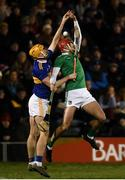25 January 2020; Barry Nash of Limerick in action against Mark Kehoe of Tipperary during the Allianz Hurling League Division 1 Group A Round 1 match between Tipperary and Limerick at Semple Stadium in Thurles, Tipperary. Photo by Diarmuid Greene/Sportsfile