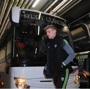 25 January 2020; Tommy Walsh of Kerry arrives prior to the Allianz Football League Division 1 Round 1 match between Dublin and Kerry at Croke Park in Dublin. Photo by Ramsey Cardy/Sportsfile