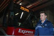 25 January 2020; Dublin manager Dessie Farrell arrives prior to the Allianz Football League Division 1 Round 1 match between Dublin and Kerry at Croke Park in Dublin. Photo by Ramsey Cardy/Sportsfile