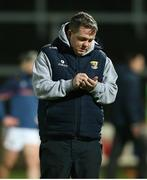 25 January 2020; Wexford manager Davy Fitzgerald prior to the Allianz Hurling League Division 1 Group B Round 1 match between Laois and Wexford at MW Hire O'Moore Park in Portlaoise, Co Laois. Photo by Michael P Ryan/Sportsfile