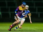 25 January 2020; Kevin Foley of Wexford in action against Stephen Bergin of Laois during the Allianz Hurling League Division 1 Group B Round 1 match between Laois and Wexford at MW Hire O'Moore Park in Portlaoise, Co Laois. Photo by Michael P Ryan/Sportsfile