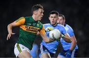 25 January 2020; David Clifford of Kerry and David Byrne of Dublin during the Allianz Football League Division 1 Round 1 match between Dublin and Kerry at Croke Park in Dublin. Photo by Ramsey Cardy/Sportsfile