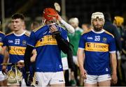 25 January 2020; Craig Morgan, Dillon Quirke and Paul Flynn of Tipperary after the Allianz Hurling League Division 1 Group A Round 1 match between Tipperary and Limerick at Semple Stadium in Thurles, Tipperary. Photo by Diarmuid Greene/Sportsfile