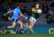 25 January 2020; David Clifford of Kerry on his way to scoring his side's first goal during the Allianz Football League Division 1 Round 1 match between Dublin and Kerry at Croke Park in Dublin. Photo by Ramsey Cardy/Sportsfile