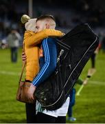 25 January 2020; Limerick goalkeeper Barry Hennessy is embraced by his fiancee Elaine Crowe after the Allianz Hurling League Division 1 Group A Round 1 match between Tipperary and Limerick at Semple Stadium in Thurles, Tipperary. Photo by Diarmuid Greene/Sportsfile