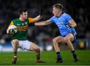 25 January 2020; Paul Murphy of Kerry and Seán Bugler of Dublin during the Allianz Football League Division 1 Round 1 match between Dublin and Kerry at Croke Park in Dublin. Photo by Ramsey Cardy/Sportsfile
