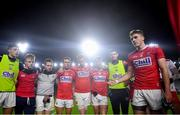 25 January 2020; Ian Maguire of Cork addresses his team-mates following the Allianz Football League Division 3 Round 1 match between Cork and Offaly at Páirc Ui Chaoimh in Cork. Photo by David Fitzgerald/Sportsfile
