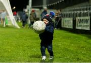 25 January 2020; Cian O'Grady, age 1, from Castletown, Co Laois, during the Allianz Hurling League Division 1 Group B Round 1 match between Laois and Wexford at MW Hire O'Moore Park in Portlaoise, Co Laois. Photo by Michael P Ryan/Sportsfile