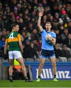 25 January 2020; Paul Mannion of Dublin calls for a mark during the Allianz Football League Division 1 Round 1 match between Dublin and Kerry at Croke Park in Dublin. Photo by Ramsey Cardy/Sportsfile