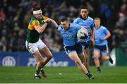 25 January 2020; John Small of Dublin and Seán O'Shea of Kerry during the Allianz Football League Division 1 Round 1 match between Dublin and Kerry at Croke Park in Dublin. Photo by Ramsey Cardy/Sportsfile