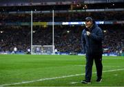 25 January 2020; Dublin manager Dessie Farrell during the Allianz Football League Division 1 Round 1 match between Dublin and Kerry at Croke Park in Dublin. Photo by Ramsey Cardy/Sportsfile