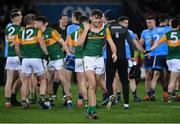 25 January 2020; David Clifford of Kerry leaves the pitch following a tussle at the final whistle of the Allianz Football League Division 1 Round 1 match between Dublin and Kerry at Croke Park in Dublin. Photo by Ramsey Cardy/Sportsfile