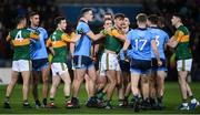 25 January 2020; Kerry and Dublin players tussle during the Allianz Football League Division 1 Round 1 match between Dublin and Kerry at Croke Park in Dublin. Photo by Ramsey Cardy/Sportsfile