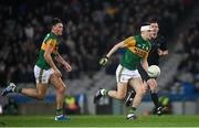 25 January 2020; Seán O'Shea, right, and Gavin O'Brien of Kerry during the Allianz Football League Division 1 Round 1 match between Dublin and Kerry at Croke Park in Dublin. Photo by Ramsey Cardy/Sportsfile